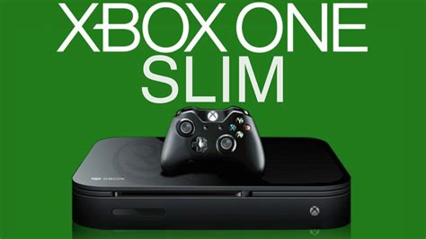 new xbox one console xbox one slim in 2016 gaming news