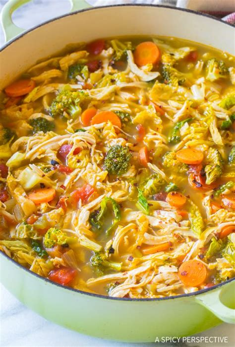 Damn Delicious Detox Soup by Best 25 Detox Chicken Soup Ideas On Healthy