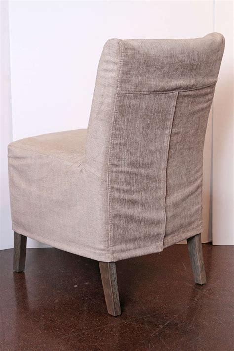slip covered casual dining chairs at 1stdibs