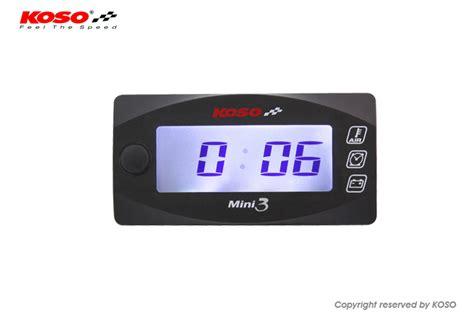 Volt Meter Merk Koso Koso Mini 3 Air Temperature Time Volt Meter