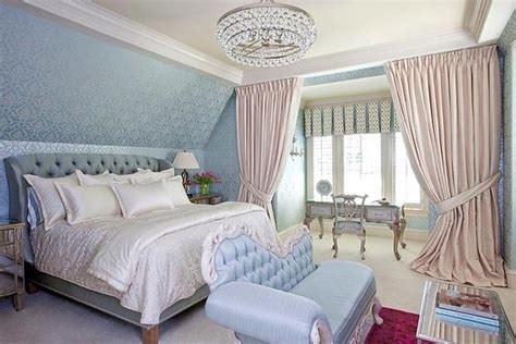Chic Bedroom Decorating Ideas Enhancing Classic Style With Light Blue Bedroom Accessories