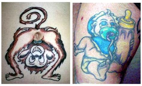 tattoos in inappropriate places www pixshark