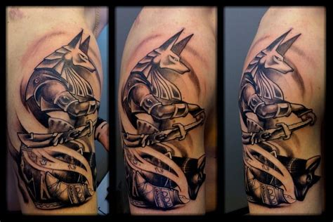 egyptian tattoo sleeve 30 anubis sleeve tattoos