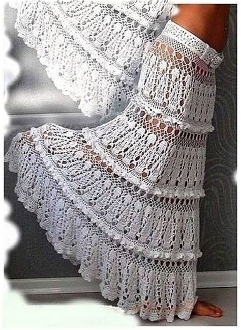 beautiful crochet skirt crochet kingdom