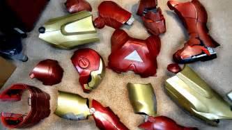 xrobots build iron man helmet suit moulding