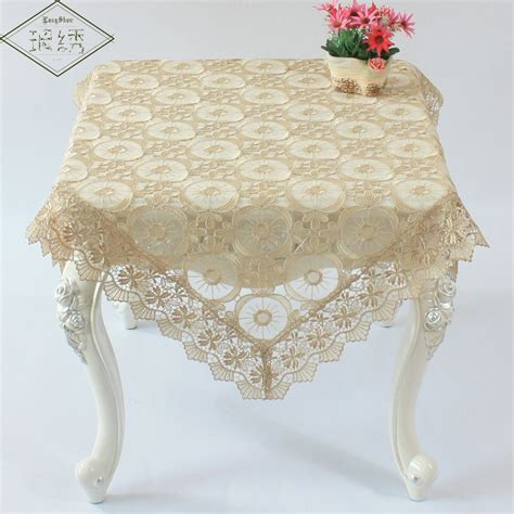 online buy wholesale lace overlay tablecloth from china