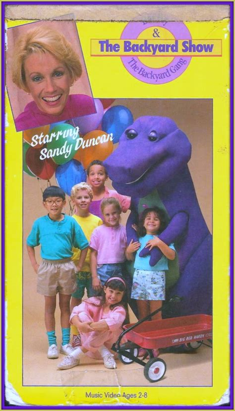 Barney Backyard Show by Barney And Friends A Magical Place For A Child S