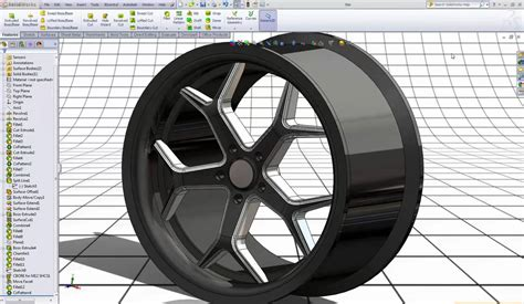 solidworks tutorial alloy wheel solidworks tutorial 20 rim youtube