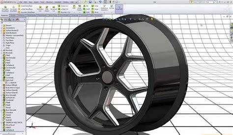 tutorial solidworks wheel solidworks tutorial 20 rim youtube