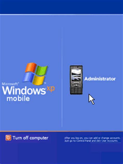 mobile login on computer 240x320 animations windows xp login
