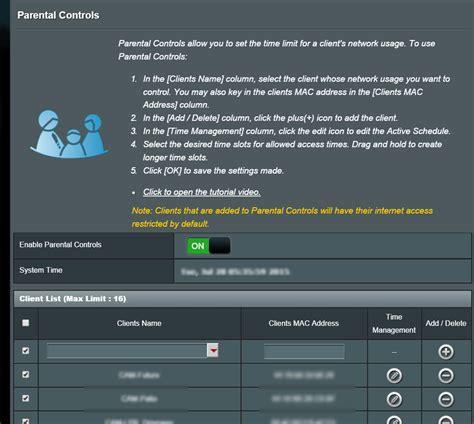 tip isolate  hikvision ip cameras   internet  parental controls  router diy