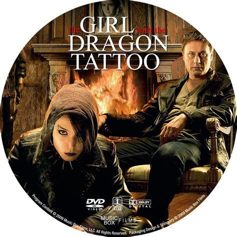 girl with the dragon tattoo 2009 the with the 2009 custom dvd labels