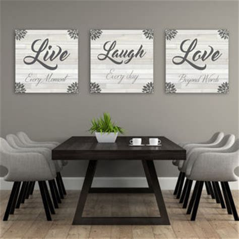 love rustic co home decor best live love laugh wall art products on wanelo