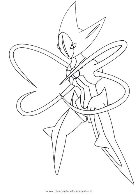 hoenn pokemon deoxys coloring pages coloring pages