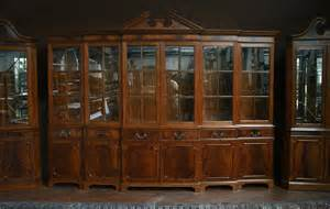 large china cabinet large mahogany china cabinet large breakfront