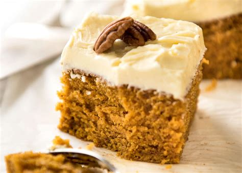 pumpkin cakes pumpkin cake with cheese frosting recipetin eats