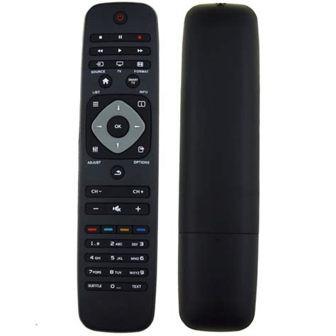 Lu Led Philips Remote new black remote replacement tv remote controller