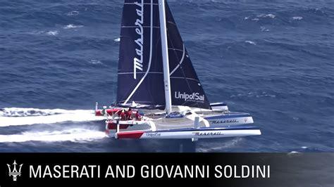 trimaran maserati giovanni soldini introducing the new maserati multi 70
