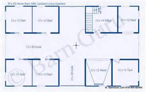 Horse Stall Floor Plans the abigail 4 stall horse barn with upstairs apartment