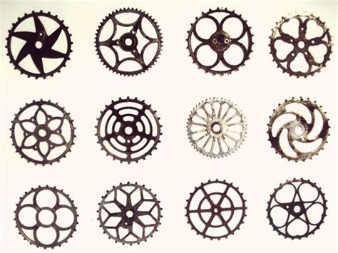 bicycle sprocket tattoo designs vintage bicycle sprocket b i k e