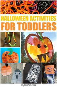 Halloween Activities For Toddlers Craft - paint chip puzzles halloween activities for toddlers crafts on sea