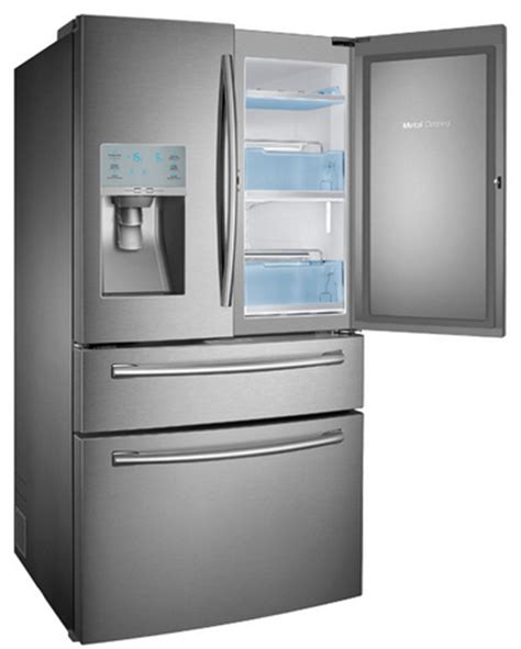 Samsung Counter Depth 4 Door Refrigerator by Rf23hsesbsr Samsung 22 6 Cu Ft 4 Door Counter Depth