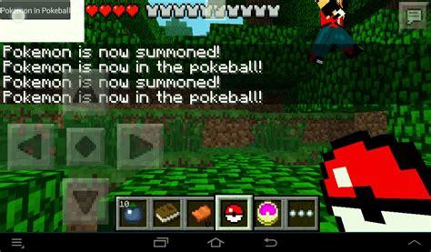 pokecube minecraft pe mods addons pokecube minecraft pe 0 7 6 youtube