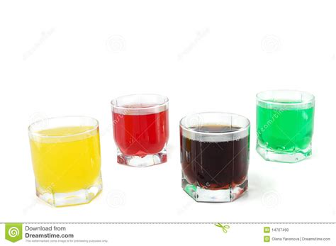 colored soft drinks stock photo image 14707490
