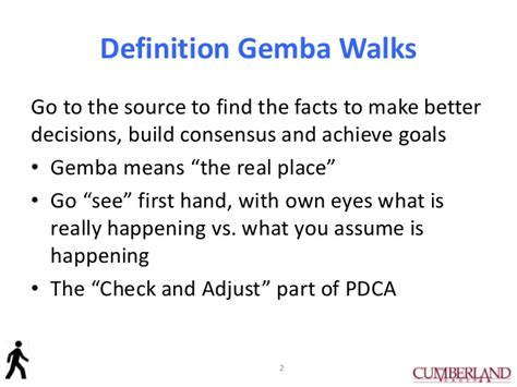 Ge Mba by How To Do A Gemba Walk