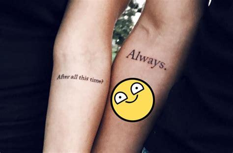 imagenes de tatuajes de amor eterno 15 tatuajes de pareja para cerrar el pacto de amor eterno