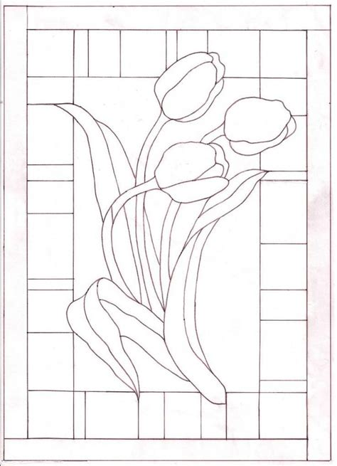 pattern paper for stained glass 7560 best images about costuras calados y bordados on