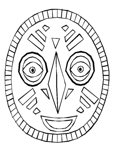 african patterns coloring pages use the african mask as a coloring page or copy the