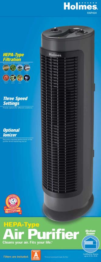 hepa type tower air purifier hap424 u auctions buy and sell findtarget auctions