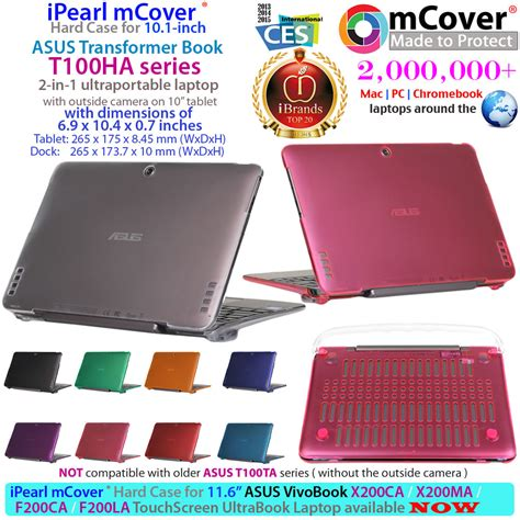 Garskin Cover Laptop 10 Inc new mcover shell for 10 1 quot asus transformer book