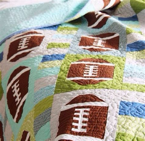 Football Quilts by Football Quilt Sew What