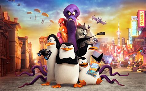 penguins  madagascar  wallpapers hd wallpapers