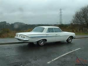 1961 chevrolet impala 4 door hardtop car