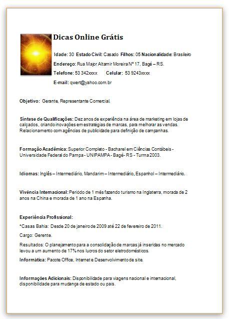 Modelo Curriculo Internacional Curriculum 2017 Profissional E Internacional Modelo Informa 231 245 Es Adicionais Prontas Para