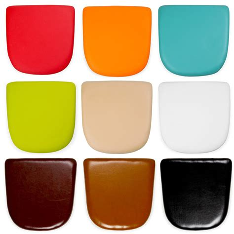 genuine leather chair pads faux leather seat pads for tolix style chairs cult furniture