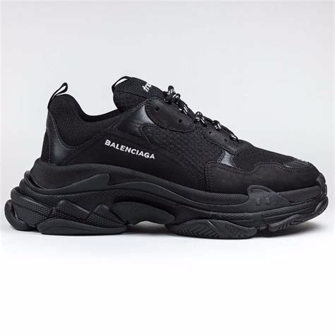 100 authentic new mens balenciaga s sneaker runner black ebay