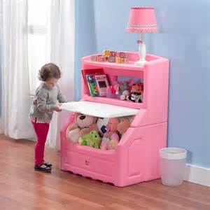 lift hide bookcase storage chest pink kid furniture