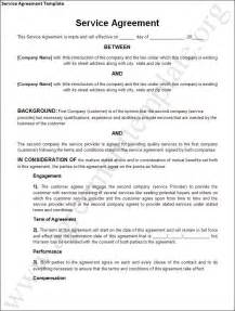 Simple Service Level Agreement Template 10 Best Images Of Simple Service Level Agreement Templates