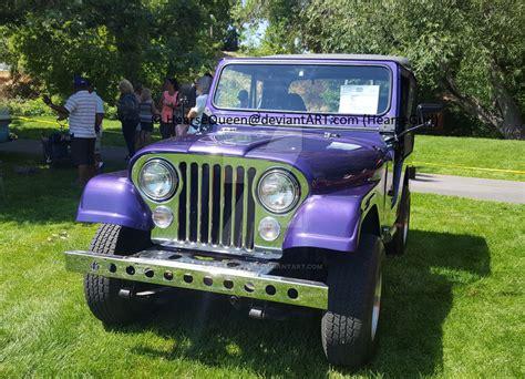 purple jeep cj 1976 purple cj5 jeep by hearsequeen on deviantart