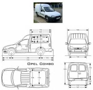 Opel Combo Dimensions Recommended Innolift Model For Opel Combo