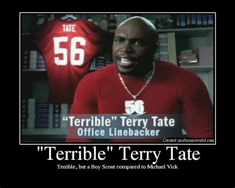 Terry Crews Office Linebacker terry tate meme memes