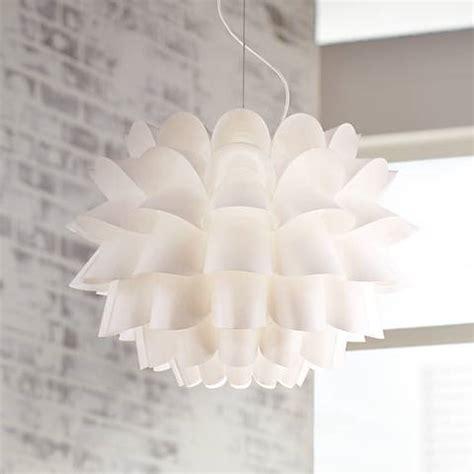 white flower pendant light possini design white flower pendant chandelier