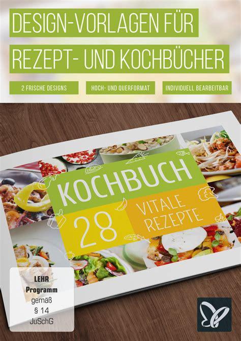 Shop Design Vorlagen design vorlagen f 252 r rezept und kochb 252 cher tutkit