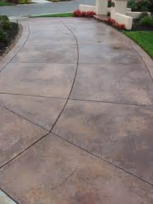 best 25 stained concrete driveway ideas on pinterest