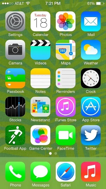 ios 7 beta features