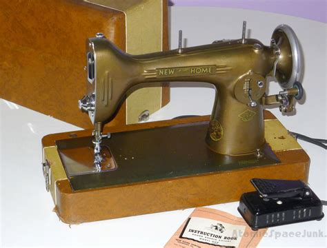 vintage new home sewing machine light running model nhr